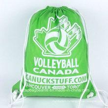 Рекламные дешевые Non Woven Drawstring спортивная сумка