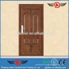 JK-A9042 chambre intérieure forte conception de porte en bois insonorisée