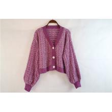 Custom Knitted Long Coat for Sale