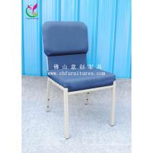 Alta qualidade ferro azul usado igreja cadeira (yc-g30)