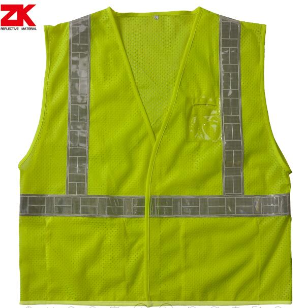 Oxford reflective warning vest