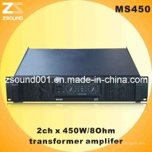 Ms450 Amplificateur de haut-parleurs professionnel audio 450W
