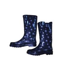 Rain Boot Supplier High Heel Rain Boots for Sale Ss-098