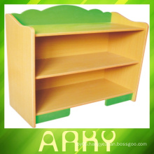 Popular children furniture plastic and wood kids toy cabinet