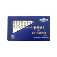 Conjunto de blocos de jogo de dominó