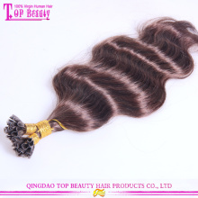 Mode-Farbe-gutes Feedback-Keratin-Haar-Verlängerung