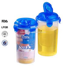 Easylock factory plastic spice bottle wholesale,watertight,bpa free