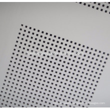 Gypsum Board Standard Size Perforated Panels Acoustic Ceiling Tile