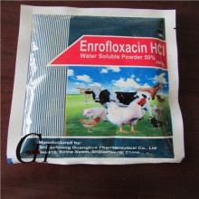 Enrofloxacina HCL Polvo soluble en agua