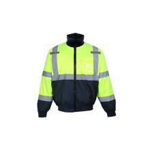 Veste de sécurité réversible en doublure en molleton détachable
