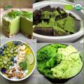 Populäres organisches Matcha-Pulver, japanischer Tee des grünen Tee-Pulvers