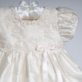 Baby Girl Baptism Dress white lace Infant Princess Dresses For Formal Occasion Dress for Baby Ceremonial Garb