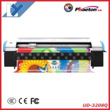 Impresora Phaeton Ud-3208q con 8 cabezales de impresión Seiko Spt510 / 35pl