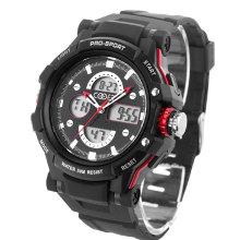 Big Face Digital Watch com 30m à prova d'água