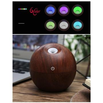 130ML Ultrasonic Aroma Essential Oil Diffuser for Bedroom