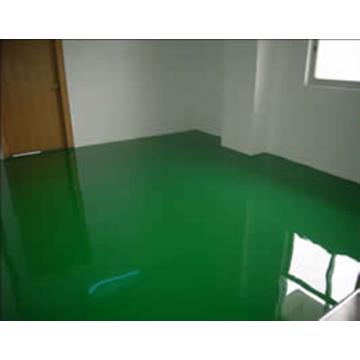 Epoxy resin self-leveling floor