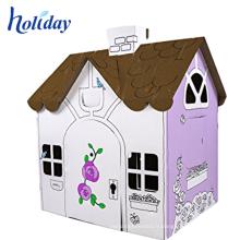 Train ondulé pliable enfants tissu grange playhouse pour enfants