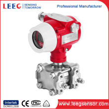 Transmissor de pressão diferencial da indústria 4-20mA com exposição do LCD