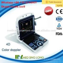 2015 Nouveaux arrivages MSLCU28-I Portable portable couleur 3D / 4D ultrasons / appareils médicaux à ultrasons