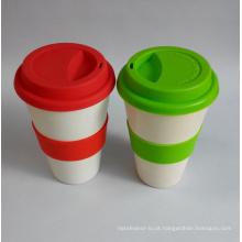 (BC-C1033) Hot-Vender copo de café de bambu da fibra