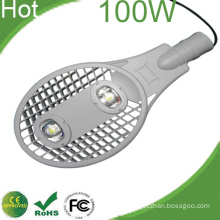 100W LED Street Light Bridgelux High Power Chips CE RoHS 3 Years Warranty