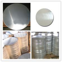 Disco de folha de alumínio para panelas 1100 1050 3003