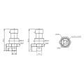 FST800-1200 4-20mA prix bas capteur de pression pour voiture / automobile