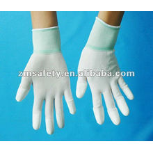 13 Gauge PU Finger Coated Nylon Glove/ESD Glove ZMR361