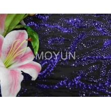 POLY KNITTING WITH 3MM SEQUIN EMBD 50/52""