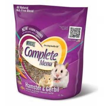 Hamster Food Packaging Futtertasche