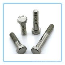 Plain Stainless Steel A2-70 Hex Bolt