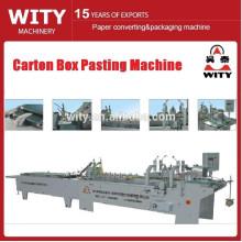High Speed Box Folding and Gluing Machine