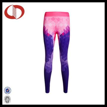 Nouveau motif de style Femmes pantalons de course Leggings de fitness et de yoga