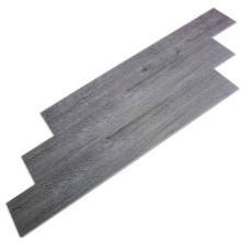 Suelo gris simple tradicional SPC impermeable