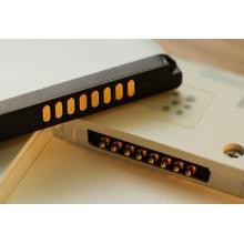 Conector de clavija Pogo con carga rápida de la batería