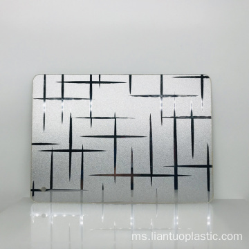 0.8-6mm Extruded PMMA Acrylic Mirror Fancy Sheets