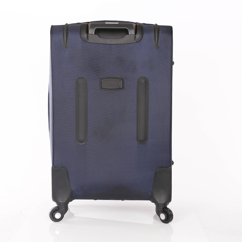 soft rolling fabric luggage trolley