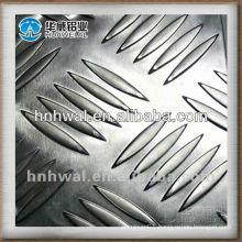 5 bars Anti-slip aluminum sheet