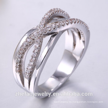 Fábrica de China directa al por mayor joyería 925 anillo de plata