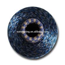 Fils de filaments de rayonne de viscose teints en Chine 300D