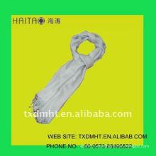 Bufanda sólida de la tela cruzada --- bufandas de las lanas del pashmina