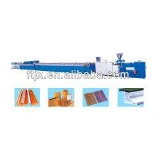 WPC & PVC plastic profile extrusion production line/PVC Profiled Material Extrusion Production Line