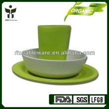 Зеленый образ жизни с бамбуковой посудой