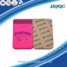 Carteras de titular de tarjeta de silicona para Smartphone