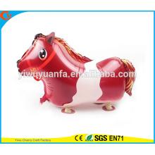 2016 Caballo caliente del globo de la hoja del juguete del globo del animal doméstico de la venta para el regalo de Christms