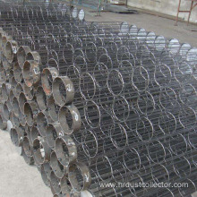 High temperature resistant dedusting skeleton