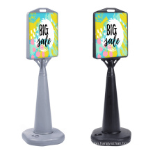 High Quality  Portable Water Base PE material outdoor Wind Resistance  Poster Sign  Stands