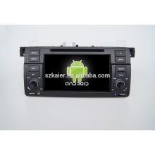 Quad core! Dvd de voiture avec lien miroir / DVR / TPMS / OBD2 pour 7 pouces écran tactile quad core 4.4 système Android E46