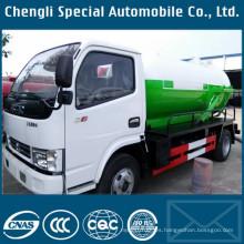 Camiones de succión de Dongfeng 3500liters 3000 tanque de vacío aguas residuales
