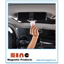 Коробка мода PU кожаный магнитный ткань для автомобиля
